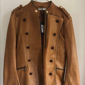 Yves Saint Laurent Military Leather Jacket